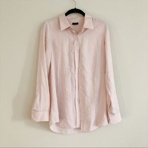 Theory Men's Custom Dress Shirt Button Down